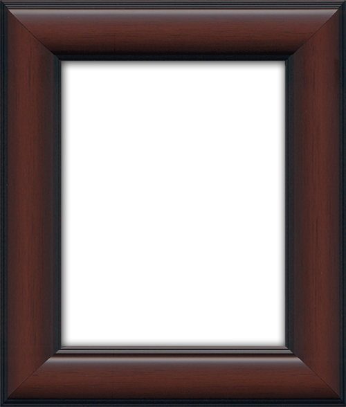 a gorgeous rich 3 frame with a light to medium brown finish