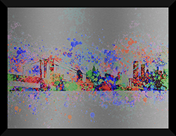 New York Skyline Splats II