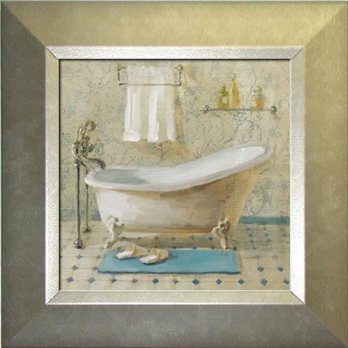 Victorian Bath IV Framed Canvas Art
