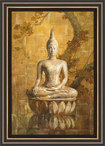 Buddha Framed Canvas Art