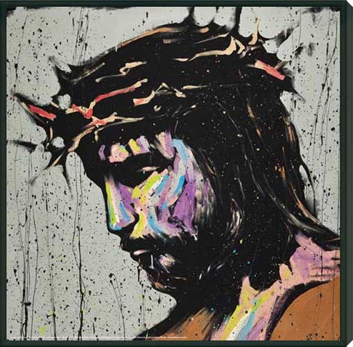 Black Jesus Wall Art: Jesus Christ Savior
