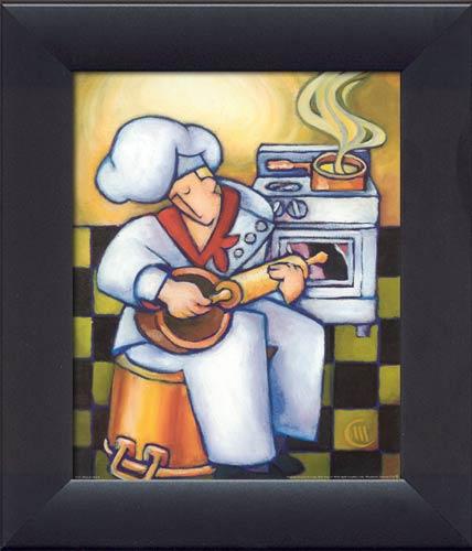Frameless Modern Cartoon Chefs Canvas Prints Restaurant: 1000+ Images About Fat Chefs On Pinterest