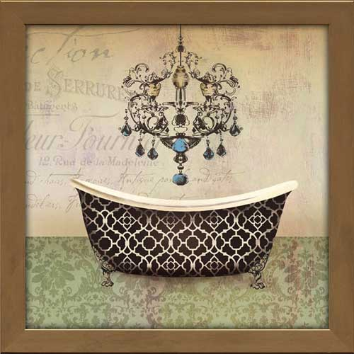 French Vintage Bath Graphic Love Pinterest