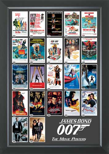 James Bond 22 Movie Posters