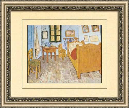 La chambre de l 39 artiste framed canvas art - La chambre de van gogh ...