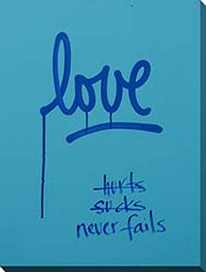 I Will Love You Forever Framed Canvas Art