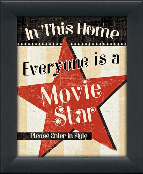 In This Home Everyone is a Star