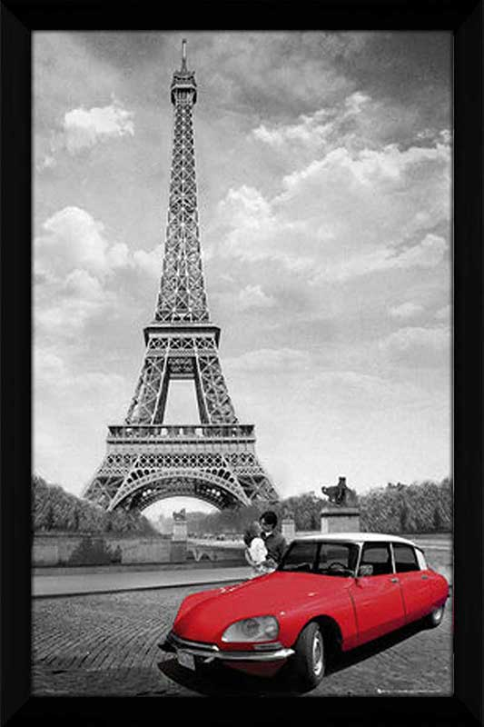 Paris Red Car
