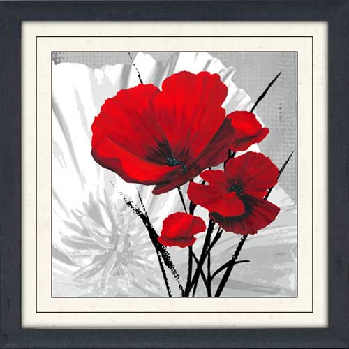 Big Red Poppies II