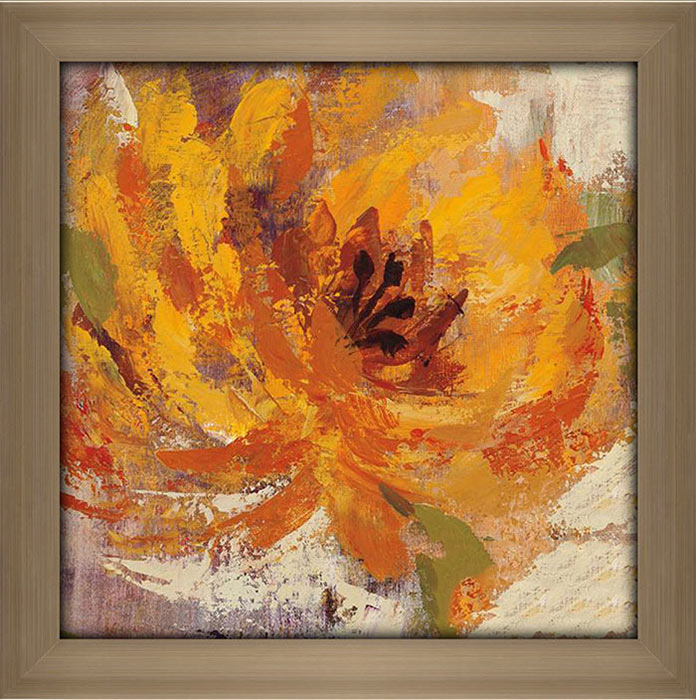 Fiery Dahlias I
